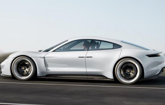 Porsche hopes its Mission E will represent the electric powered future of the auto industry - image courtesy of Porsche.