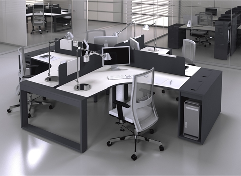 Calibre Integrated Desks