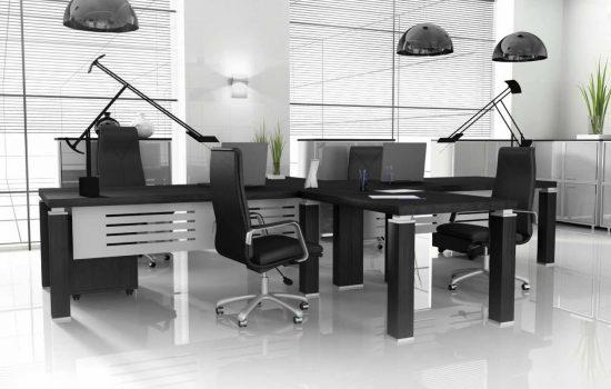 Modern office furnishing