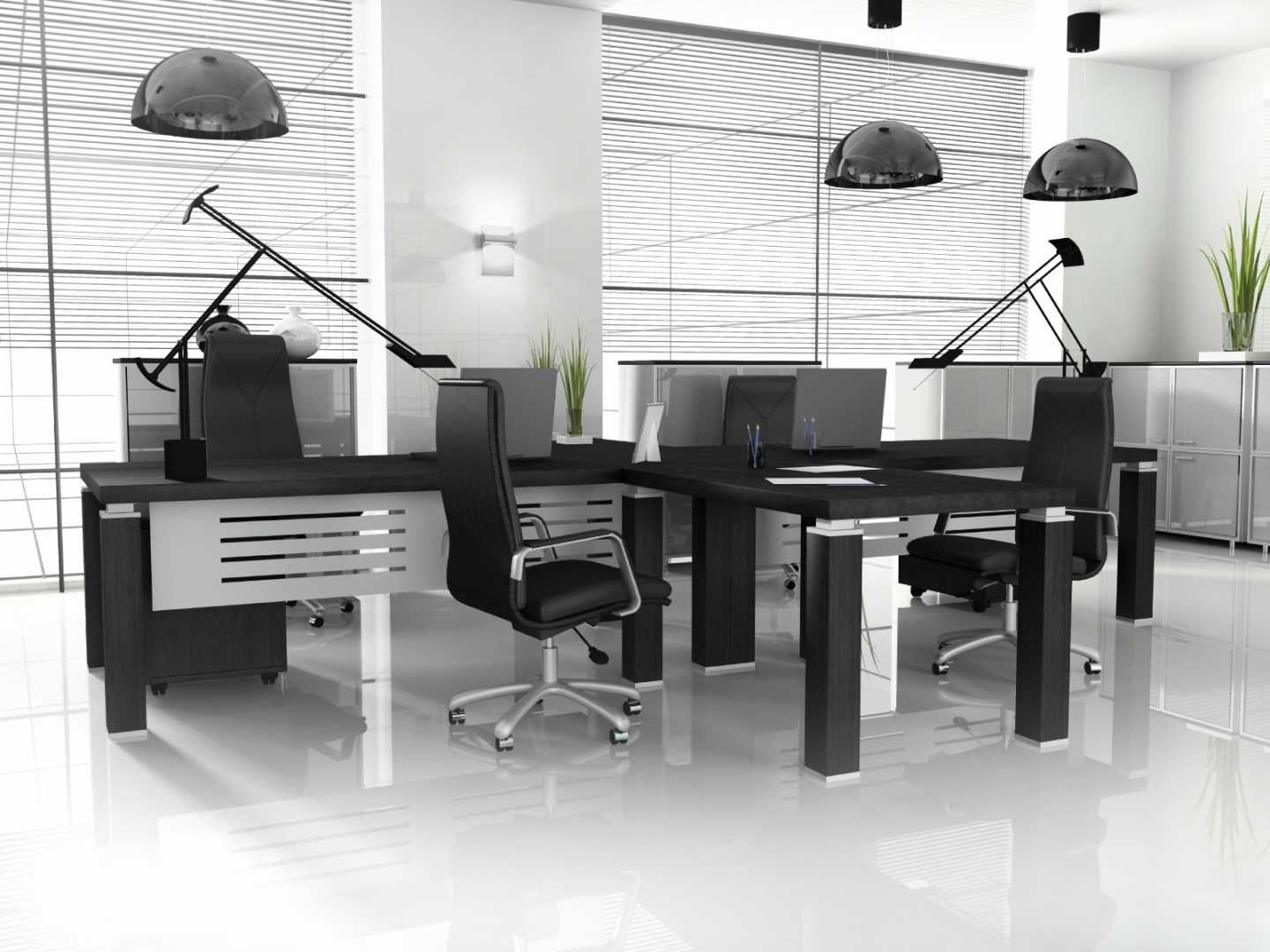 Modern office furnishing