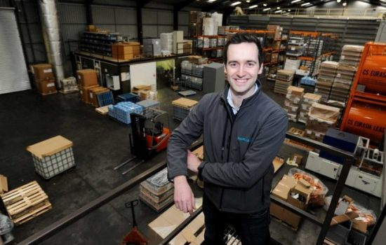 MD, Ben Guy at Phoenix Group's headquarters in Redhill.