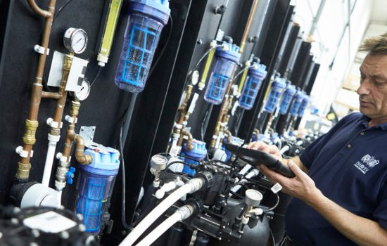 Inside the Harvey Water Softeners factory where investment is a key priority - image courtesy of Harvey Water Softeners.