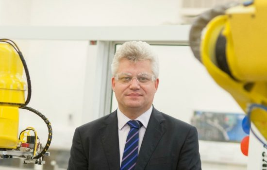 Andy Neely, the new Head of Cambridge University's Institute for Manufacturing
