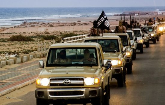 Toyota vehicles feature prominently in ISIS propaganda.