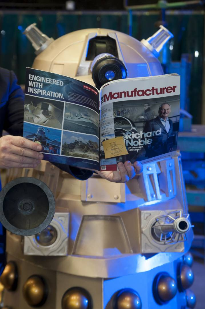 The Daleks may be one of the most feared races in the universe, but you can't knock their taste in reading material.
