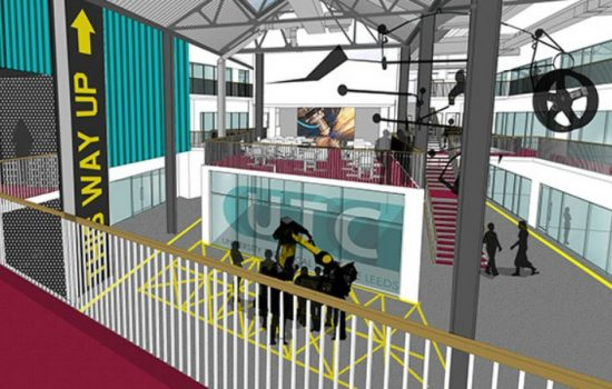 Located at the Braime Pressings Factory on Hunslet Road, the UTC will be housed in the newly converted west wing.