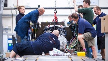 Overall, Bloodhound SSC has been assembled with bespoke parts from more than 340 companies.
