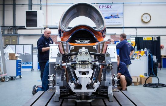 Some areas of Bloodhound SSC will have had as many as six different designers contributing to the project.
