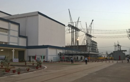 The North-East Agra power station in India - image courtesy of ABB
