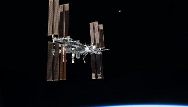 The Chinese space station will be open to international modules in a similar way to the ISS (pictured). Image courtesy of Nasa