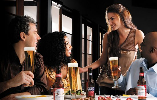 A promotional image from AB InBev beer-brand Budweiser - image courtesy of Budweiser
