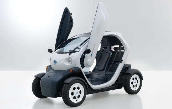 The new Nissan mobility concept is available for rent in San Francisco - image courtesy of Business Wire