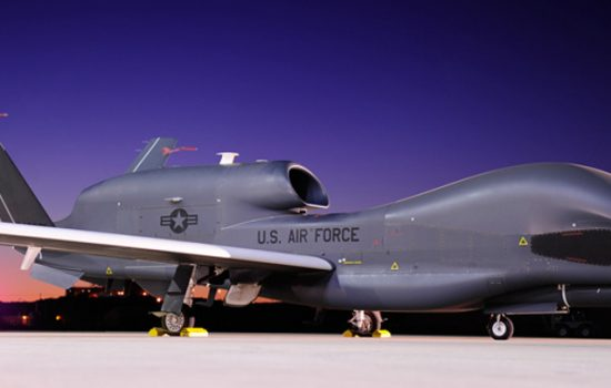Northrop Grumman will help to develop Global Hawk planes as part of its $3.2bn contract with the US Air Force - image courtesy of Northrop Grumman.