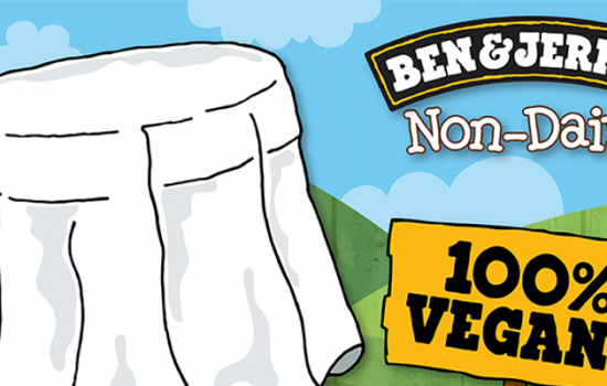 Ben & Jerry's are to produce a new vegan ice-cream range following an online petition - image courtesy of Ben and Jerry's.