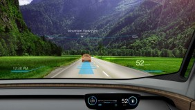 The heads up display of the Nissan IDS concept - image courtesy of Nissan