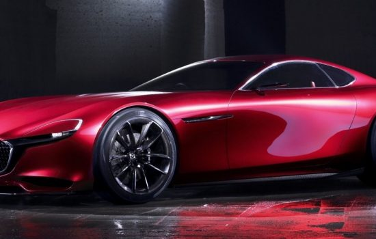 The Mazda RX Vision was unveiled at the Tokyo Motor Show 2015.