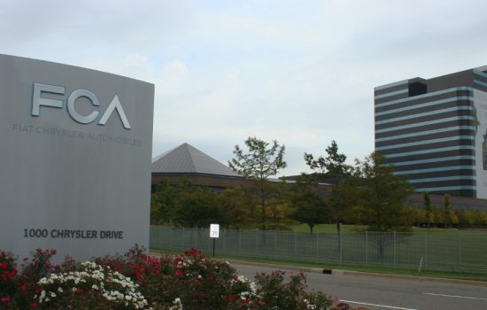 The Fiat Chrysler head office - image courtesy of FCA