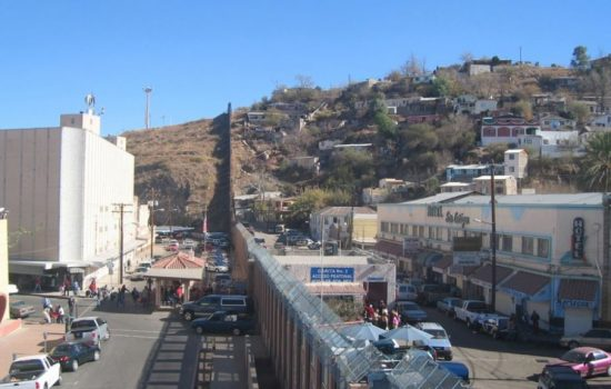Some of the missing chemical shipment was found in the US-Mexico border town of Nogales. Image courtesy of Flickr - Ryan Bavetta.
