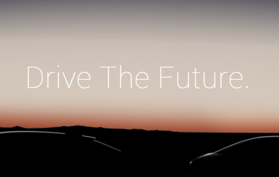A screen grab from the Faraday Future website - image courtesy of Faraday Future.