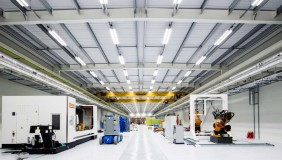 The shop floor is fully configurable and can accommodate a wide range of projects.