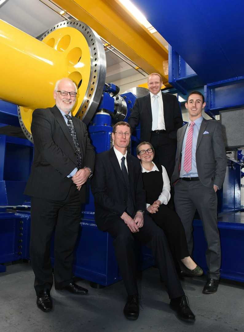 L to R: Nick Mallinson (WMG); Neil Wyke (Georg UK); Lucy Prior (Rail Alliance); David Atkinson (Lloyds Bank), and Adam Titchen (EEF).