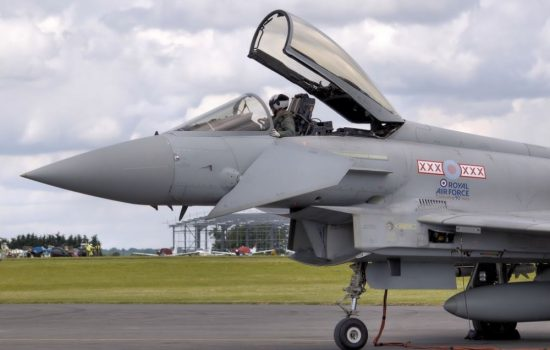 AIM Altitude was involved with the Eurofighter Typhoon project. Image courtesy of Wikipedia Commons.
