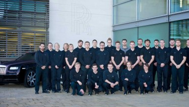 Rolls-Royce apprentices