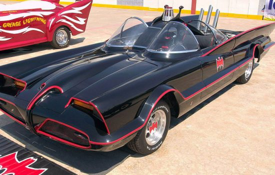 The 1960s Batmobile created by George Barris - image courtesy of Jennifer Graylock and Ford Motor Company (commons.wikimedia.orgwikiFile1960s_Batmobile_(FMC).jpg)