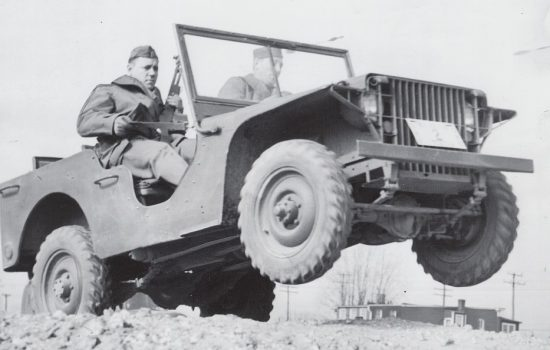America's oldest Jeep is actually a Ford - image courtesy of the Historic Vehicle Association