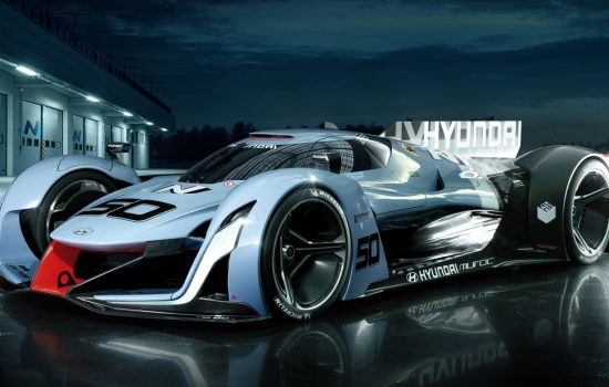 Hyundai N 2025 Vision Gran Turismo, showing the potential and vision of N - image courtesy of Hyundai.