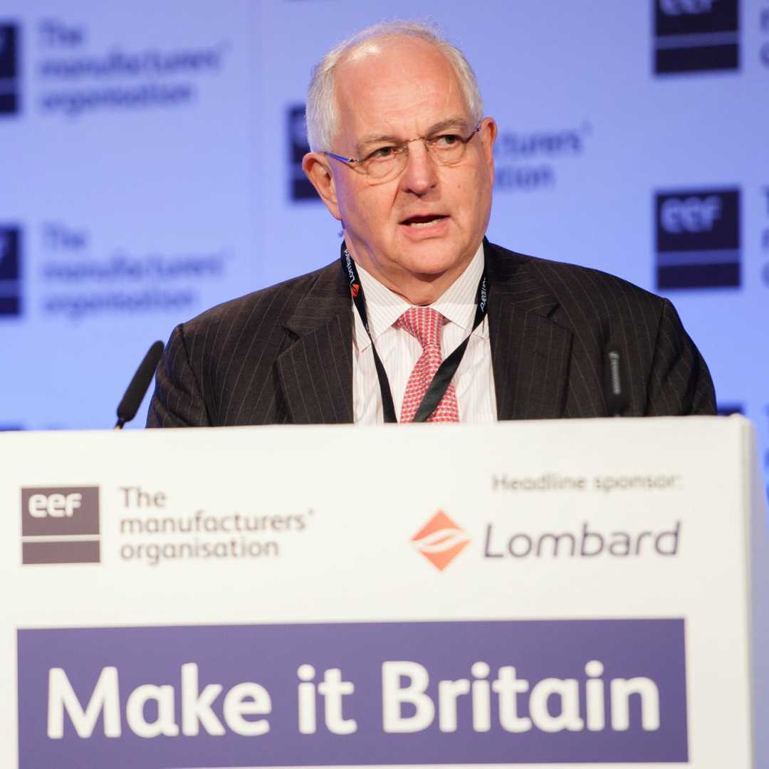 Martin Wolf, CBE, Chief Economics Commentator at The Financial Times
