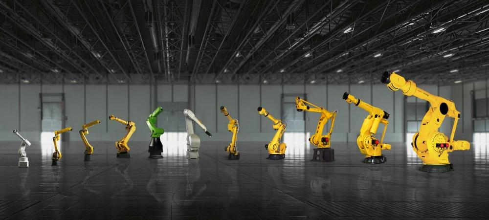 FANUC Industrial Robot Range