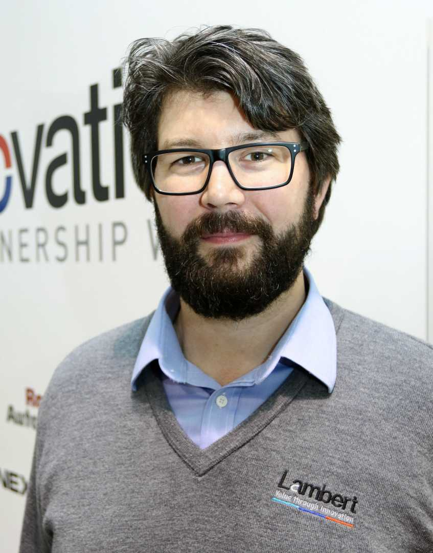 Innovation manager, Lambert Engineering - Mike Lewis: