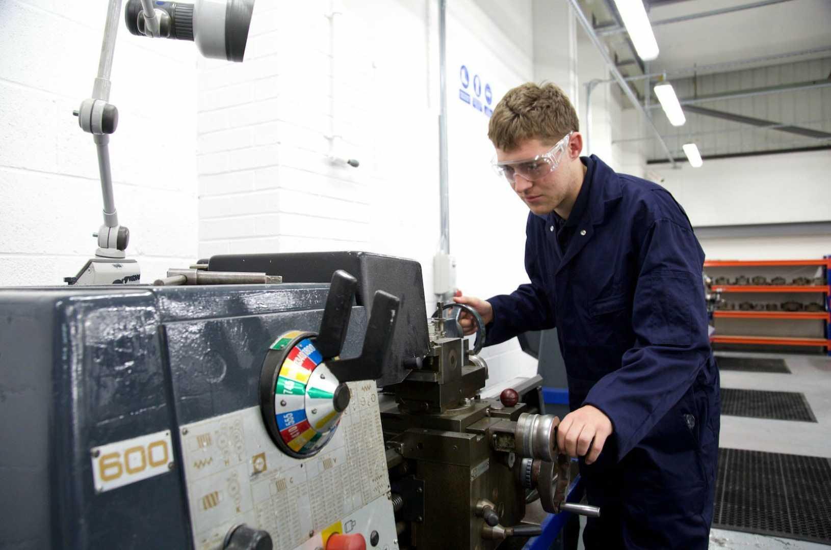 Connor Macrae, apprentice, Salop Design & Engineering.