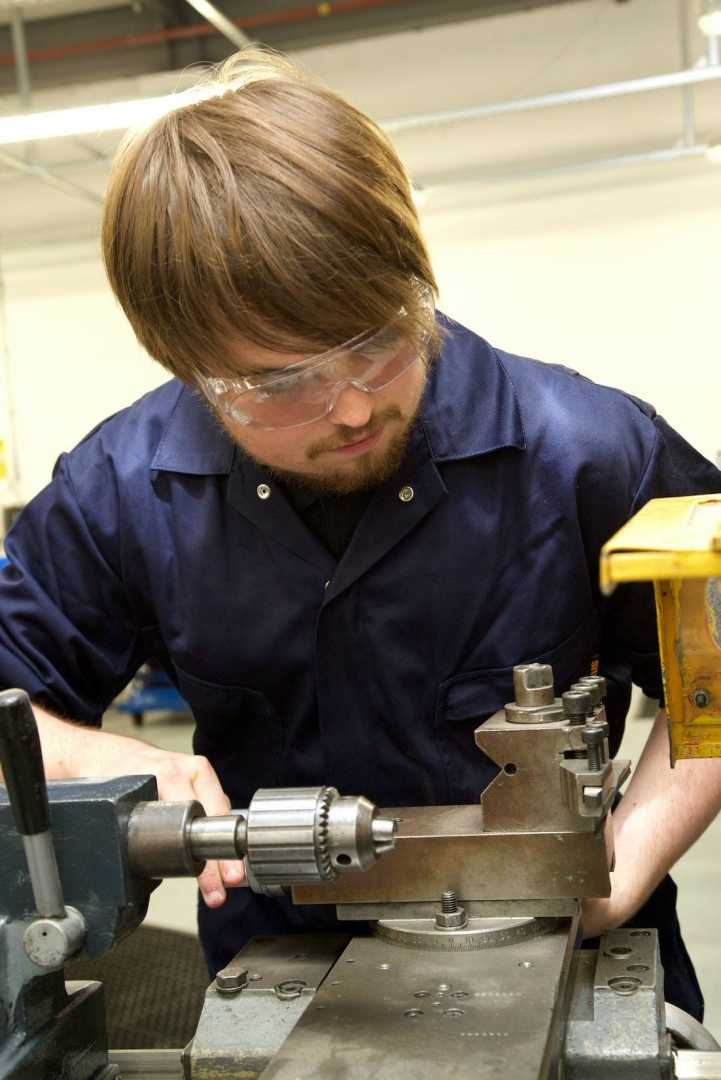 Alex Owen, apprentice, Salop Design & Engineering.