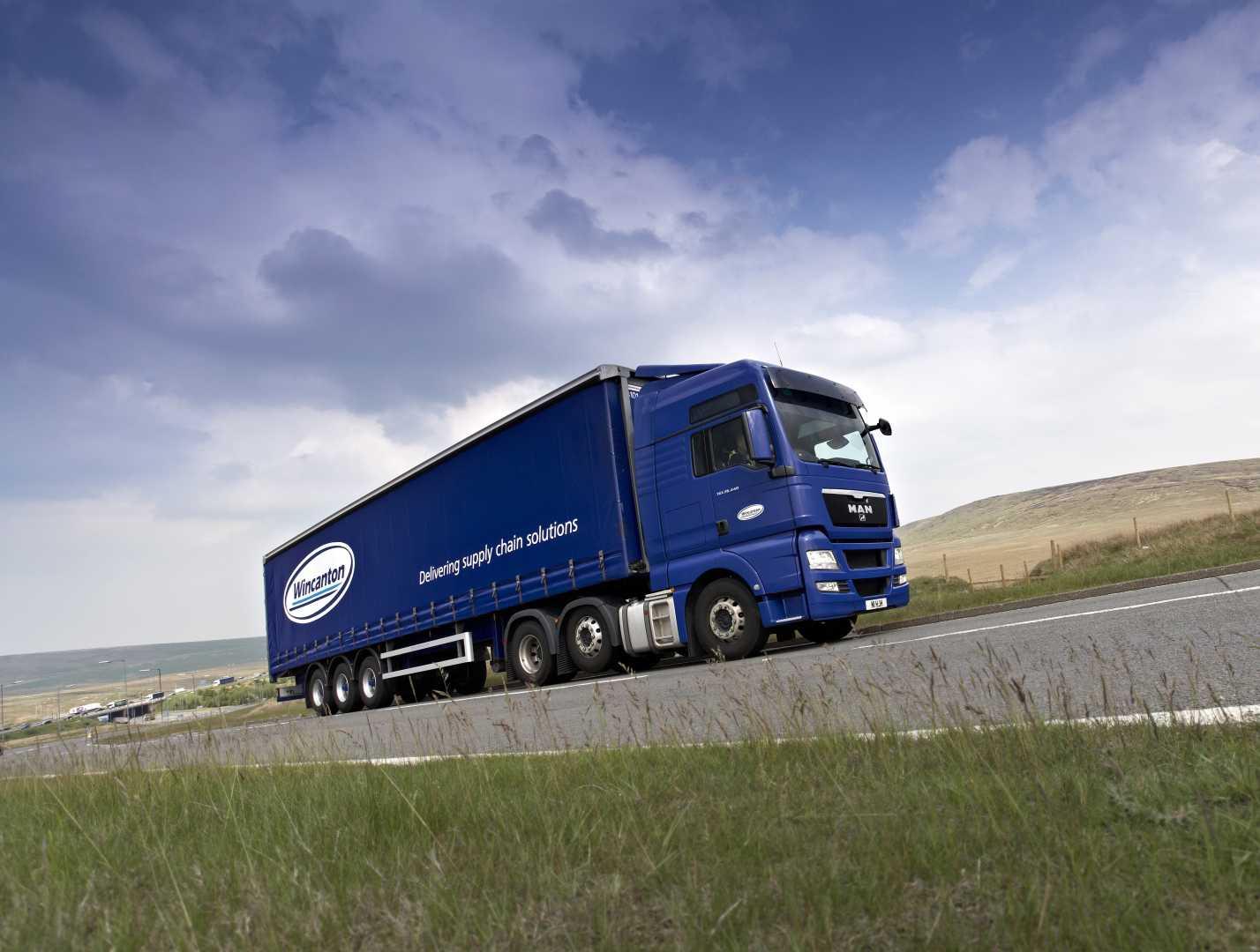 Wincanton heavy vehicle