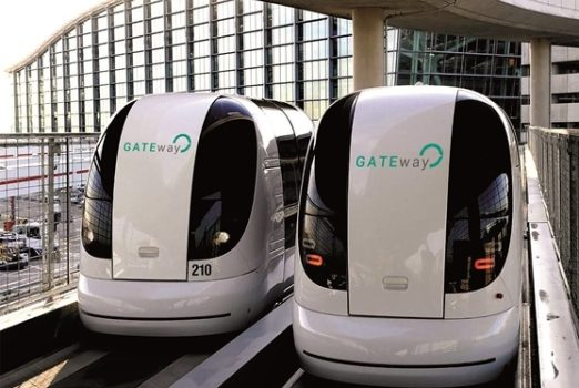 The pods at currently used at Heathrow will be adapted for use on the roads.