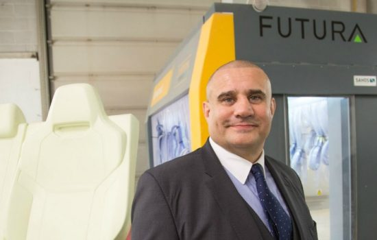 Paul Cadman, group managing director & named in The Manufacturer's Top 100 2015, Futura Group.