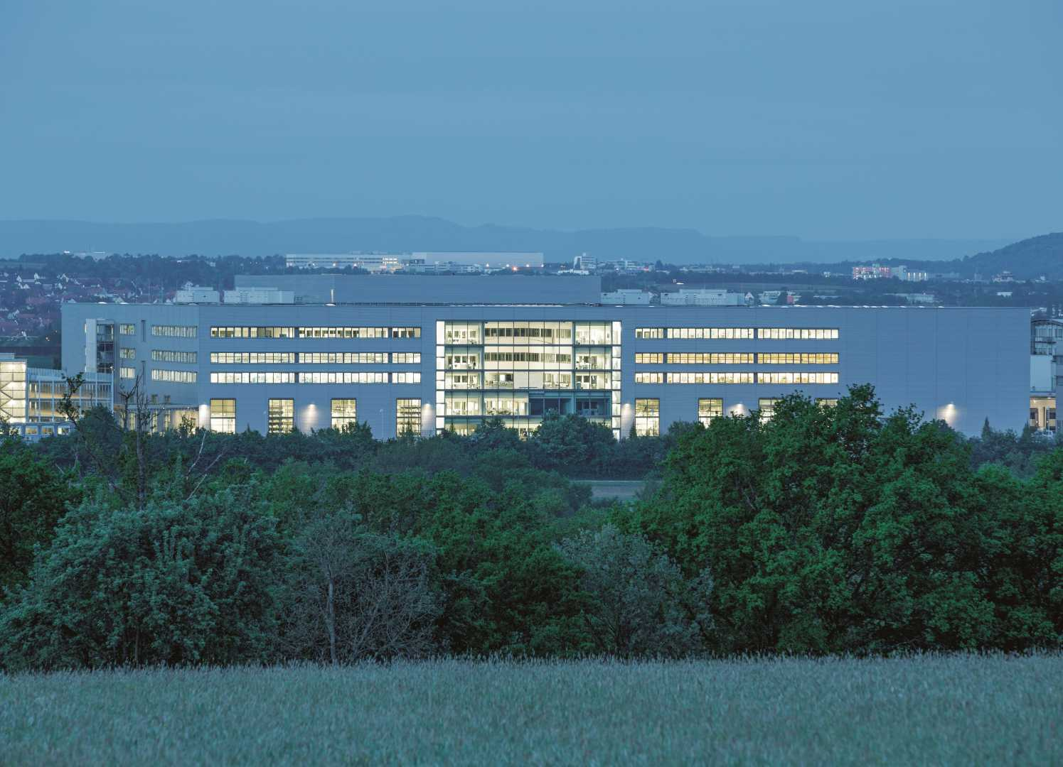 The Scharnhausen Technology Plant – Festo's main site for the production of valves, valve terminals and electronics.