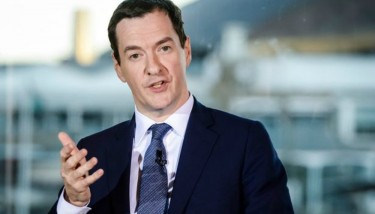 Chancellor of the Exchequer George Osborne speaks at St David's Hotel, Cardiff Bay during his visit to Cardiff (image courtesy of WalesOnline