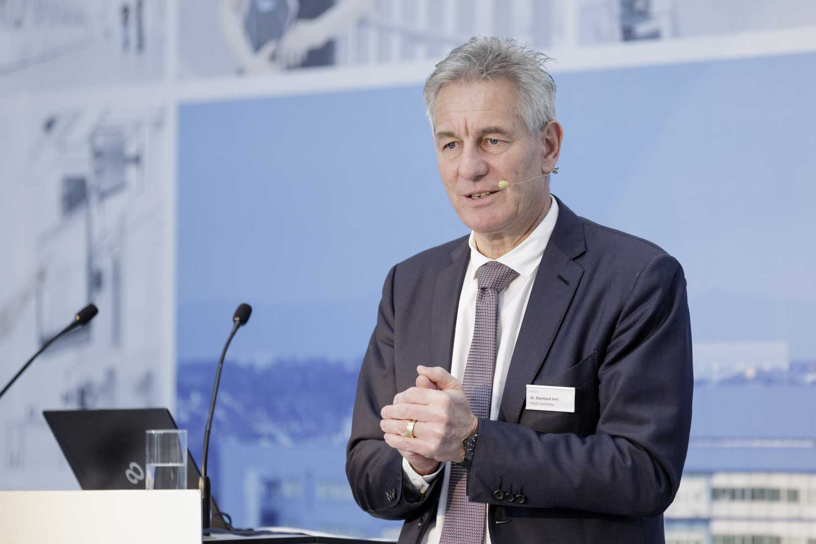 """Is Industry 4.0 a global challenge or a gateway to the future?"" asked Chairman of the management board of Festo AG & Co. KG, Dr Eberhard Veit."