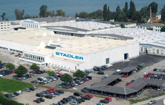 The Stadler Altenrhein factory in Switzerland - image courtesy of Stadler