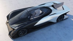 The Faraday Future FFZERO1 concept car. Image courtesy of Faraday Future.