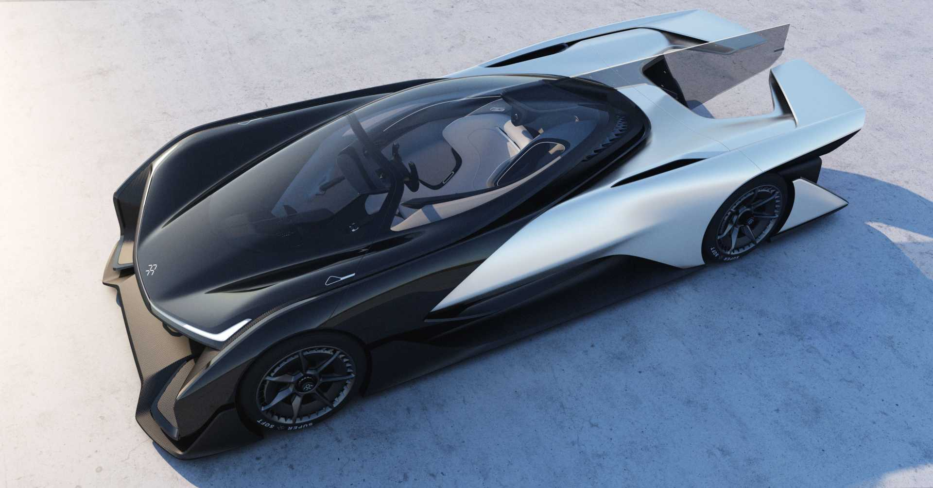 Faraday Future Unveils First Concept Car