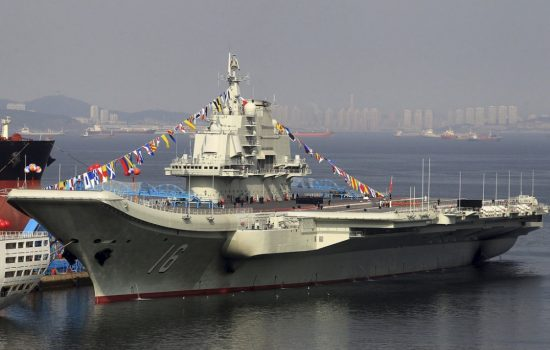 The new Chinese aircraft carrier will resemble the Liaoning (pictured). Image courtesy of Flickr - Simon Yang