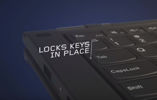 Lenovo Lift N Lock technology is featured on the new P series workstations
