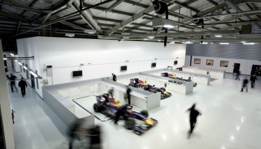 Red Bull Racing - Photos from the Milton Keynes Factory