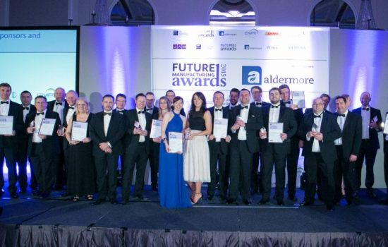 Winners of EEF/Aldermore Future Manufacturing Awards 2016