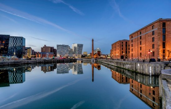 So, it's no surprise that the Fourth Industrial Revolution powered by digital technology, sees Liverpool City Region at the forefront of developments. Liverpool UK Albert Docks