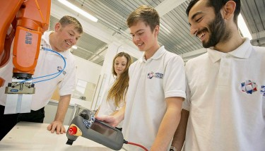 The Institute for Advanced Manufacturing and Engineering (AME), a collaboration between Coventry University and Unipart Manufacturing.